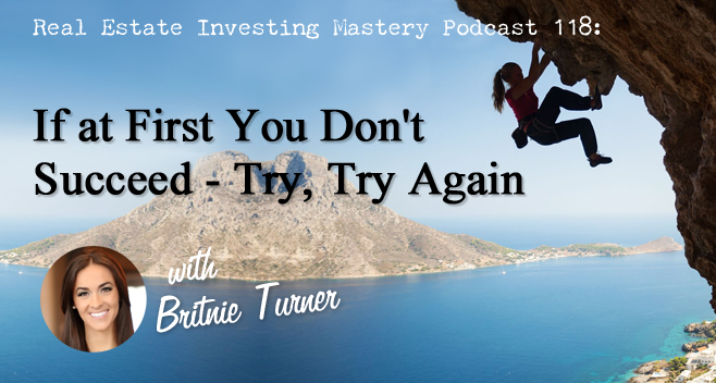 If At First You Don't Succeed – Try, Try Again