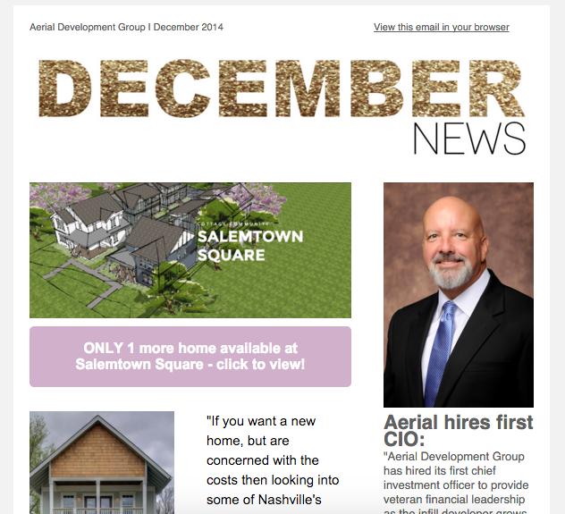 December Newsletter, 2014