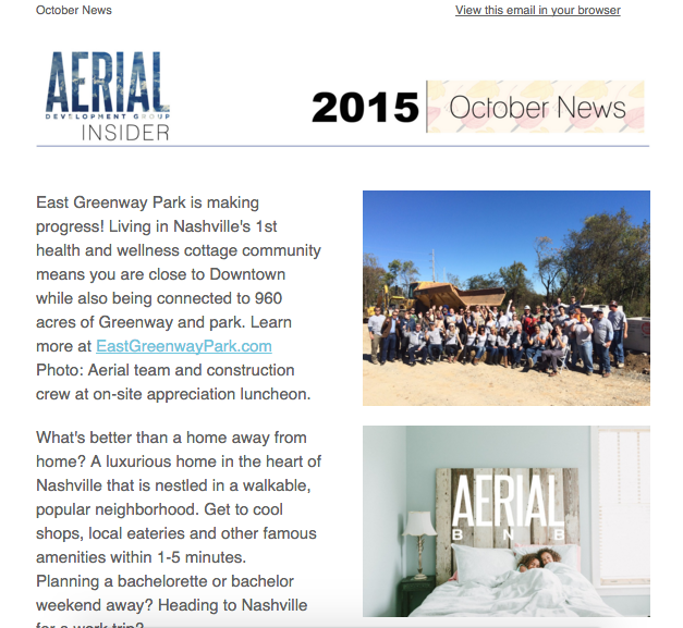 October Newsletter, 2015