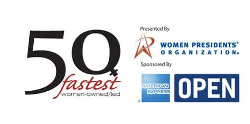 50 Fastest Women-Owned Businesses Award