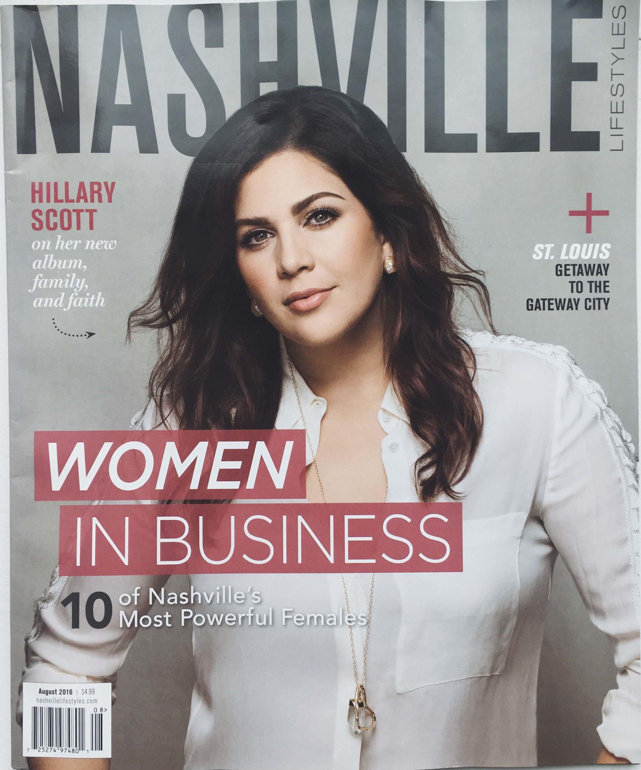 Nashville Lifestyles Magazine: 10 of Nashville's Most Powerful Females